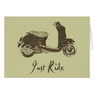 Just Ride Card