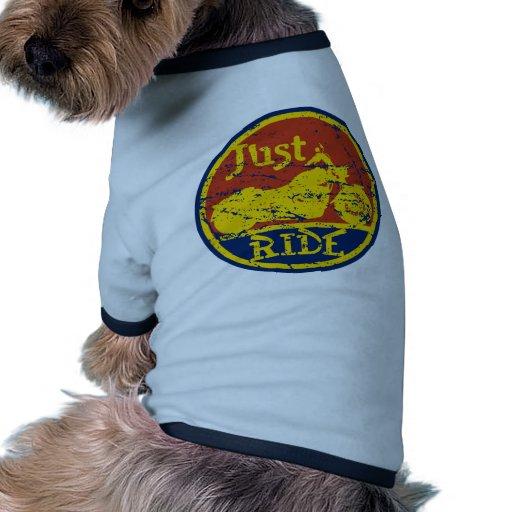 Just Ride Dog Clothing