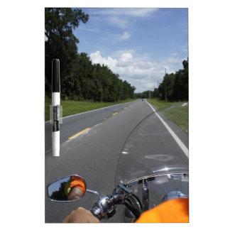 Just Ride Dry-Erase Board