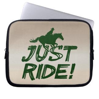 "Just Ride! Electronics Sleeve 10"" Laptop Sleeves"