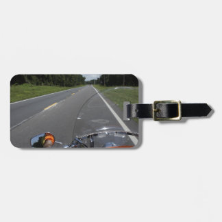 Just Ride Luggage Tag