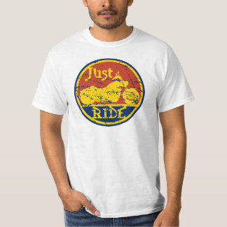 Just Ride Mens Value Priced Motorcycle T-shirt