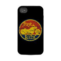 Just Ride Motorcycle iPhone4 Case and Cover casemate_case