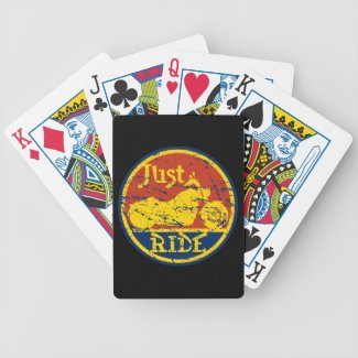 Just Ride Motorcycles Playing Cards Deck Card Deck