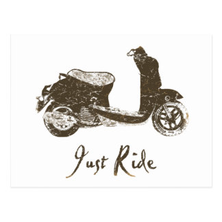 Just Ride Postcard