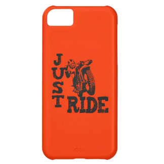 Just Ride Vintage Motorcycles Cover For iPhone 5C