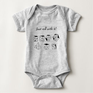 Just roll with it baby bodysuit