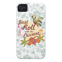 Case-Mate iPhone 4 Barely There Universal Case with Pixar's Finding Nemo with Squirt: Just Roll with the Current design