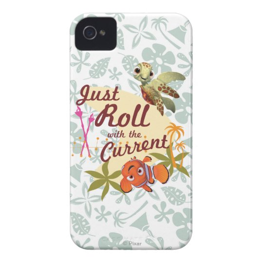 Just Roll with the Current iPhone 4 Cover