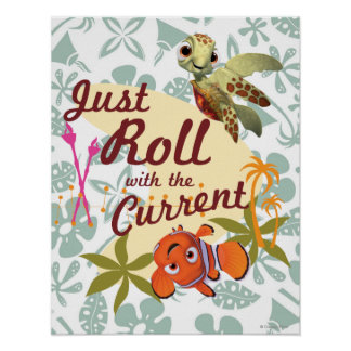 Just Roll with the Current Poster