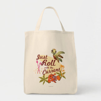Just Roll with the Current Tote Bag