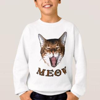 "Just Say ""Meow"" Sweatshirt"