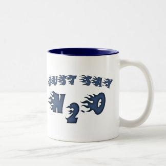 Just Say N2O Two-Tone Coffee Mug