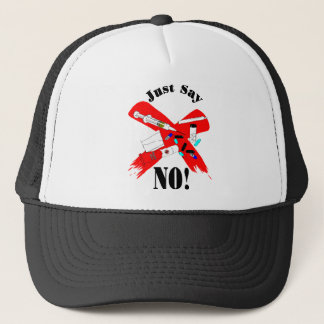Just say no Design Trucker Hat