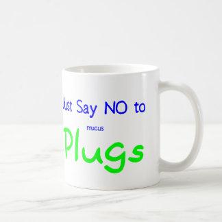 Just Say No (Green) Coffee Mug