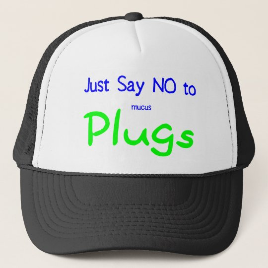 Just Say No (Green) Trucker Hat