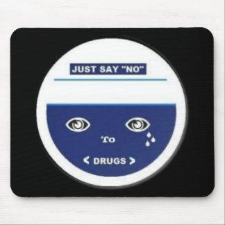 Just say no mouse pad