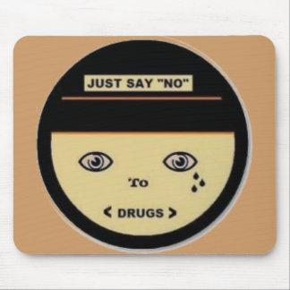 Just say no, Mousepad