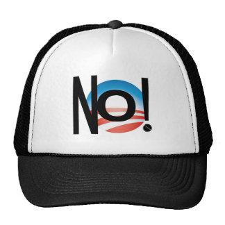 JUST SAY NO! NOBAMA NO! OBAMA! TRUCKER HAT