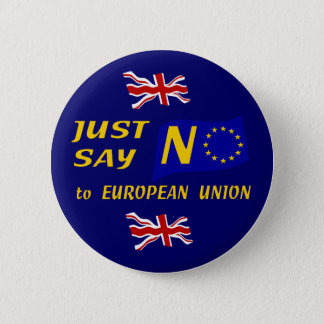 Just Say No Pinback Button