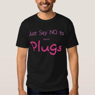 Just Say No (Pink) T Shirt