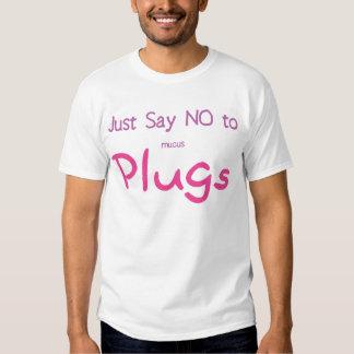Just Say No (Pink) Tee Shirt