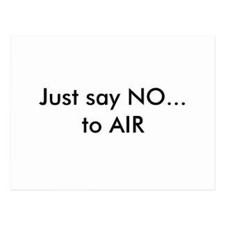 Just Say NO Postcard