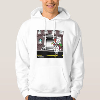 Just say No To Chicken Soup Hoodie