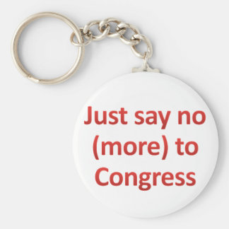 Just say no to Congress Keychains