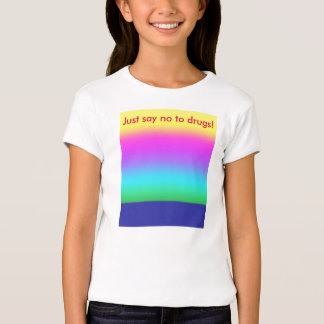Just Say No to Drugs Kids' T-Shirt