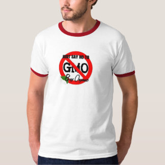 Just Say NO to GMO men's tee