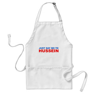 Just say NO to Hussein Adult Apron