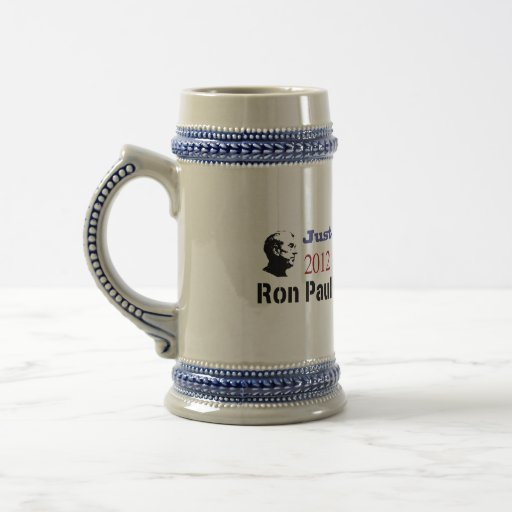 Just Say No To The Status Quo Ron Paul 2012 18 Oz Beer Stein