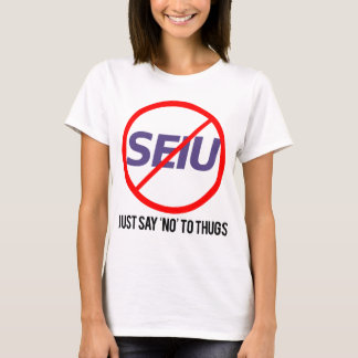 just say no to thugs T-Shirt