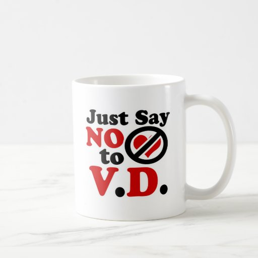 Just Say no to Valentines day Classic White Coffee Mug
