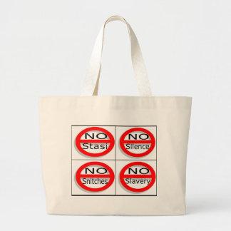 Just say no tote bags
