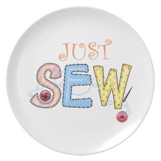 JUST SEW PARTY PLATES