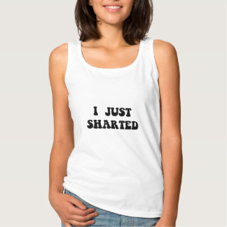 Just Sharted Basic Tank Top