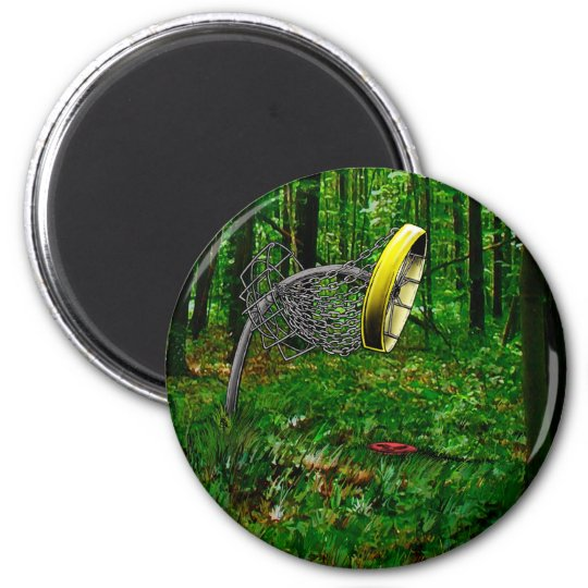 Just Short_Color 2 Inch Round Magnet