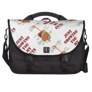 Just Showing You My Guts (Digestive System Humor) Computer Bag
