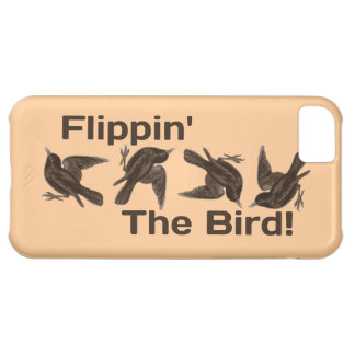 """Just Silly """"Flippin' The Bird"""" iPhone 5C Cover"""