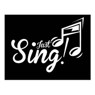 Just Sing! Postcard
