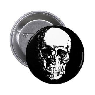 Just Skull Pinback Button