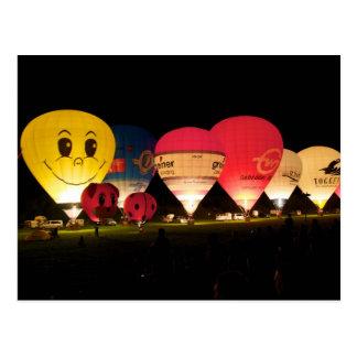 Just smile....Balloon Postcard