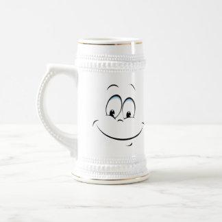 Just Smile Beer Stein