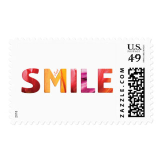 Just Smile Happy Quote 04 Postage