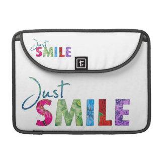 Just Smile MacBook Pro Sleeve