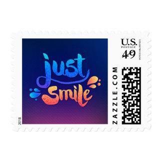 Just Smile Postage