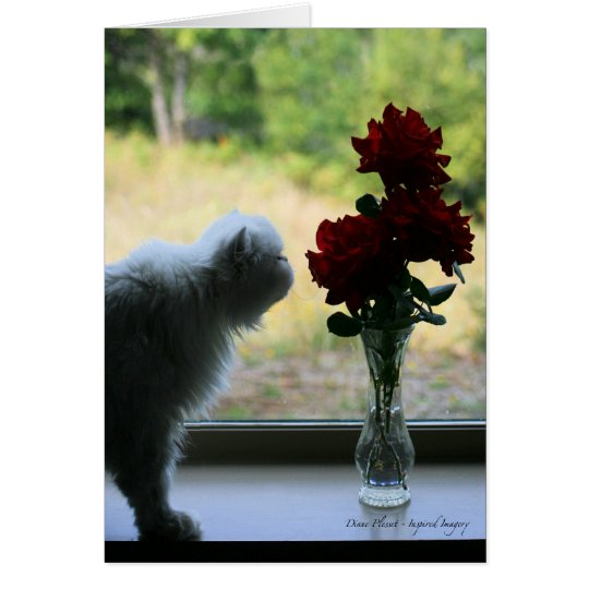 """""""Just Sniffin' the Roses"""" Card"""