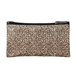 Just Snow Leopard Makeup Bags